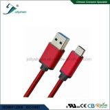 USBは赤いブレードおよびMatelのヘッドセリウムRoHSが付いているCの充満ケーブルをタイプする