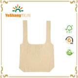 Nuovo Design T-Shirt Folding Cotton Bag Can è Folded Into un Drawstring Pouch Drawstring Cotton Tote Bag