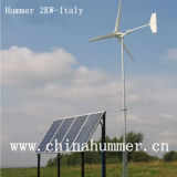 능률적인 Wind Solar Hybrid Power Generator 2000W