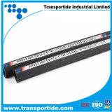 Tubo flessibile Non-Raschiato ad alta pressione standard di SAE&DIN con il coperchio spostato