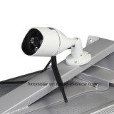 Todos en una luz de calle solar integrada del LED con la cámara del CCTV
