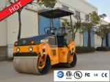China 3 Tonnen-Doppelt-Trommel-hydraulische Vibrationsstraßen-Rolle (JM803H)