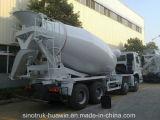 Sinotruck HOWO 6X4 371HP 10cbmの具体的なミキサーのトラック