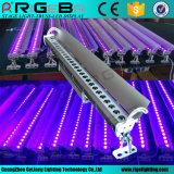 Imperméable IP65 27LEDs de contrôle DMX 3W UV LED extérieur Projecteur mural