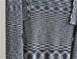 Sleeveless geöffnete Wolljacke der Dame-90%Viscose10%Nylon