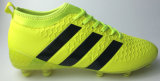 Nieuwe Transparante Enige Voetbalschoen met Zool Spandex