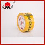Alto Rendimiento de cinta adhesiva de plástico con el logotipo de impresión