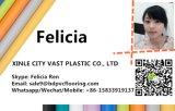 Piso de PVC Baoxiniao 2,5M/2.9M/3,0 m/3,3 m largura por rolo