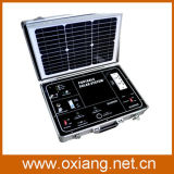 携帯用太陽発電機のスーツケースを使用して500W世帯か旅行