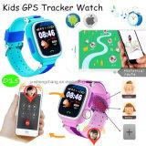 """1.22 """" 다채로운 접촉 스크린 아이 GPS 추적자 시계 (D15)"""