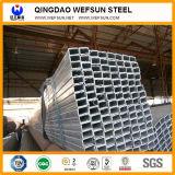 6m Q235 Tubo de acero galvanizado rectangular