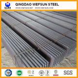 Estructura de acero negro de la construcción de la barra de ángulo de China