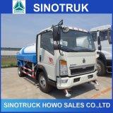 Piccolo camion del serbatoio di acqua di HOWO 5m3 6cbm da vendere