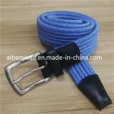 Il cotone piegato del Knit dell'azzurro reale dell'inarcamento filetta la cinghia Braided