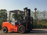 Nuevo motor de Isuzu carretillas elevadoras del diesel de 4 toneladas