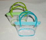 Содружественный мешок руки PVC ясности для подарка (YJ-A026)