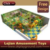 CE thème coloré en plastique du château de terrain de jeux intérieur (ST1405-6)