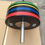 Плита конкуренции олимпийского поднятия тяжестей резиновый