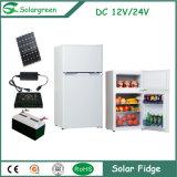 Refrigerador solar del hogar del compresor de la C.C. del precio directo 12V de la fábrica