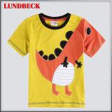 Bonitinha Design Impressão T-shirt do rapaz no estilo de moda