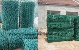 Коробка PVC Coated Gabion высокого качества, ячеистая сеть