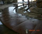 Flameados pórfido rojo mosaico para pavimentación exterior