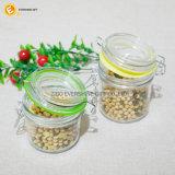 Hölzerne Kappen-Glasglas Glaswaren im Küchenbedarf für Speicherung