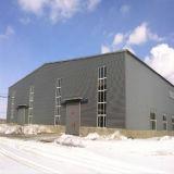 Stahlfabrik-direkte steife Rahmen-Raum-Überspannungs-Gebäude-Installationssätze