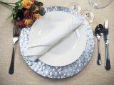 Красивые модели Silver зарядное устройство пластины для посуды идеи