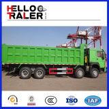 Caminhão de descarregador resistente de Sinotruk HOWO 8X4 371HP