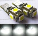T10 5SMD 5050 Auto LED Canbus Error Free Nonpolar Top Quality、SMD Canbus LED Light、Canbus LED Indicator LED SMD
