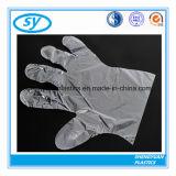 Устранимые сложенные перчатки HDPE пластичные медицинские