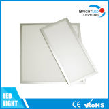 Cuadrado blanco de alta calidad Flat-Type Panel LED incorporado