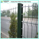 PVC Coated Curvy Welded Fence de Direct Wholesale d'usine à vendre