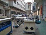 Linea di produzione di plastica dell'espulsione del tubo di prestazione di colore stabile del doppio