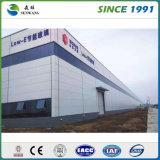 La estructura de acero galvanizado de almacenes prefabricados