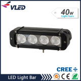 "7.9 ""venta al por mayor 40W 3200lm sola fila del CREE LED Light Bar"
