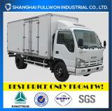 Isuzu 100p 1.2 - 4 Ton, 9-19 M3 Single Row Light Duty 밴 Truck