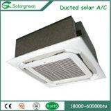 分割は高品質のホーム使用のハイブリッド太陽エアコンを導管で送った