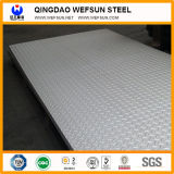 Плита стали углерода Q235 GB стандартная Chequered анти- - направляя рельсами плита