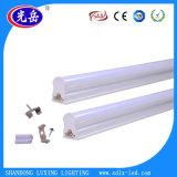 Mejor efecto de disipación de calor 18W LED integrado T5 tubo de iluminación