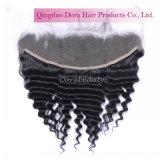 Commercio all'ingrosso frontale del merletto poco costoso dalla fabbrica dei capelli