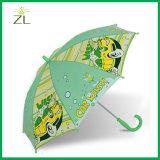 190tポリエステル最も安くまっすぐな子供動物の傘