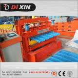 Roulis en acier de panneau de toit de couleur de double couche de Dx formant la machine