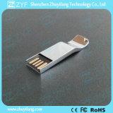 2016 새로운 유일한 디자인 은 밝은 금속 USB 지팡이 (ZYF1737)