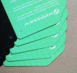 Cmyk papel impreso, etiqueta de prendas de vestir, etiqueta de precio