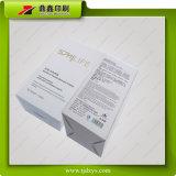 Cadre de papier de empaquetage de produit de beauté de luxe avec l'estampage de clinquant d'or