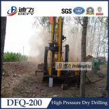 Máquina de la plataforma de perforación de la percusión, perforando para el agua subterránea