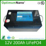 Batterie rechargeable LiFePO4 12V avec batterie solaire 200AH BMS