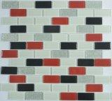 Azulejos de mosaico de cristal de Demax para la pared al claro